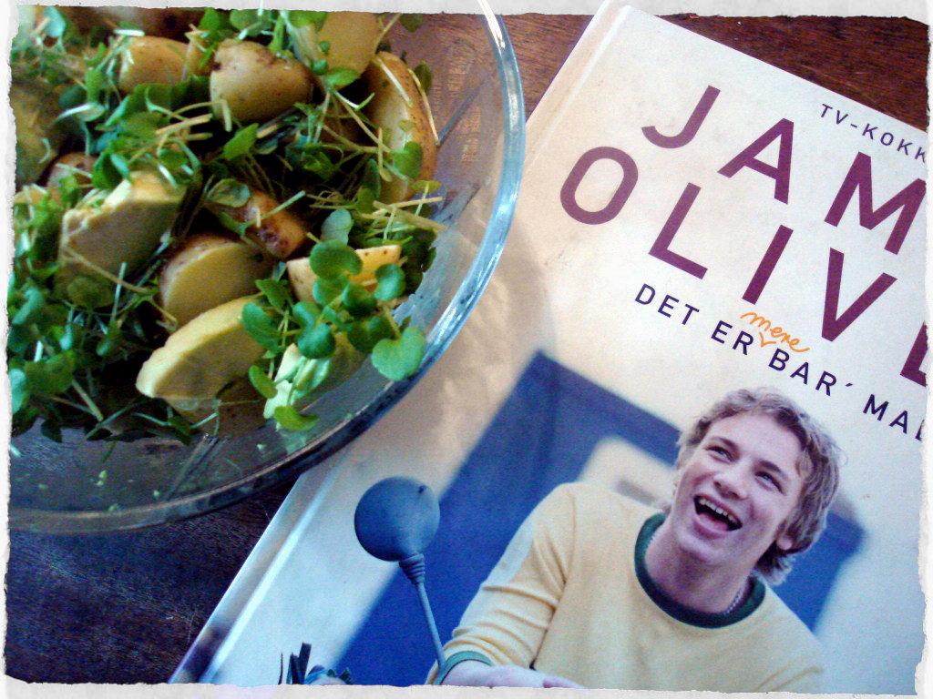 Jamie Olivers Potato Salad With Avocado And Watercress