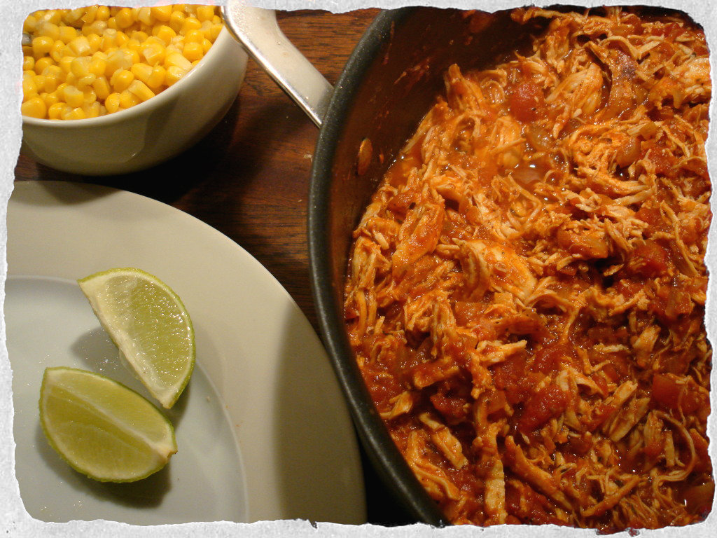 how to cook mexican shredded chicken
