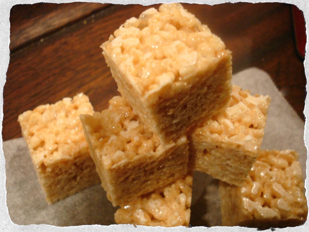 Rice Krispies Treats homemade