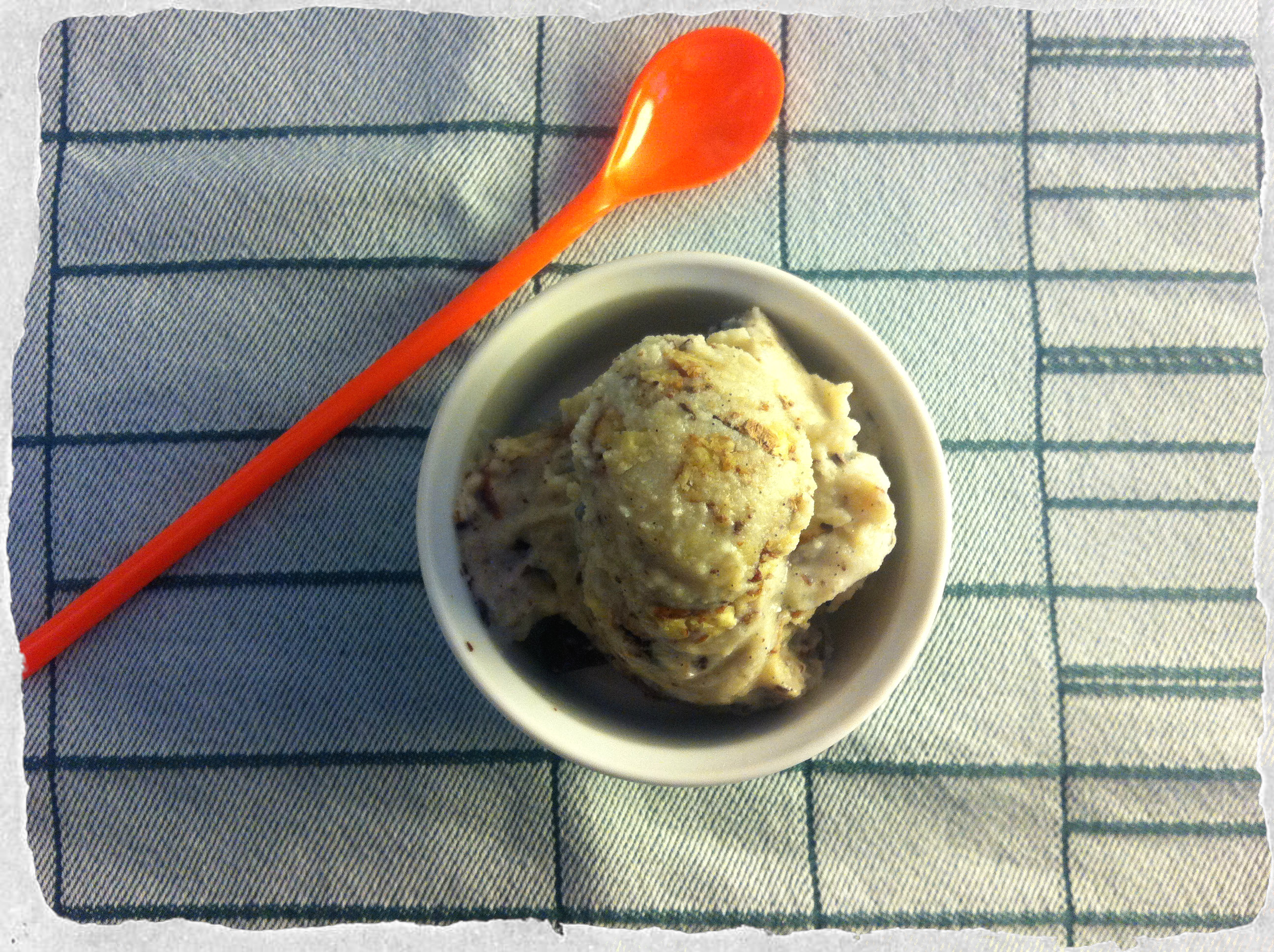 Chunky Monkey ice cream homemade