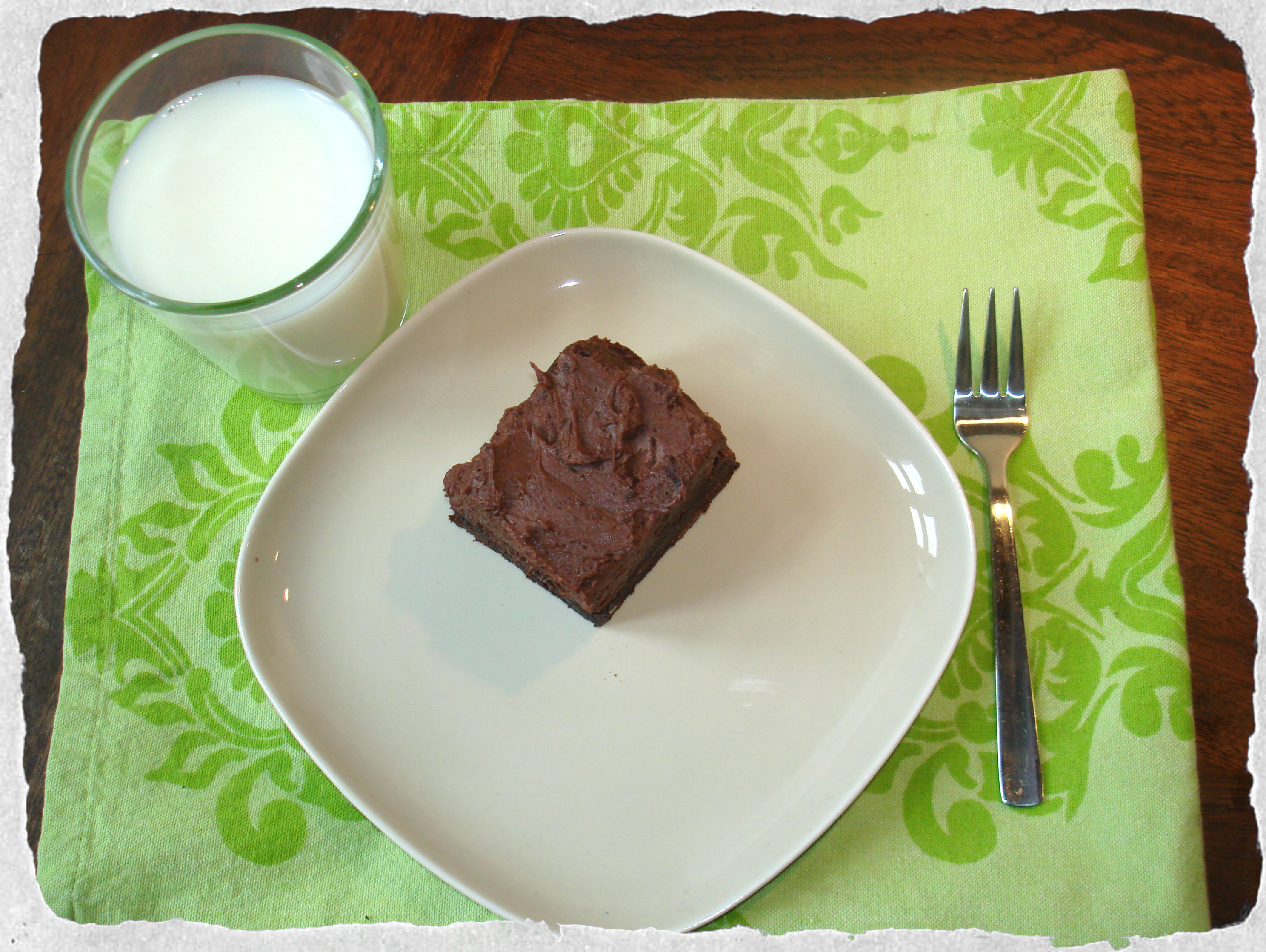 Homemade gooey brownie, Hummingbird bakery recipe